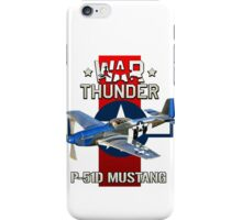 War Thunder P-51 Mustang  iPhone Case/Skin