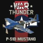 War Thunder P-51 Mustang  by Mil Merchant