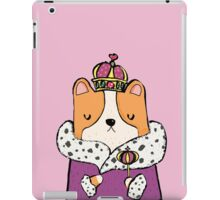 Queen Corgi iPad Case/Skin