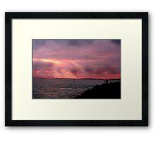 Light of Freedom Framed Print
