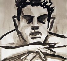 Ink Nude 4 by Mathew Reed
