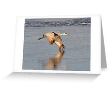 There is nothing in this world that does not have a decisive moment... Greeting Card