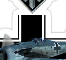 World of Warplanes Fw190 Sticker