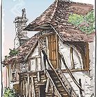 Vintage View of Fable House by aurielaki