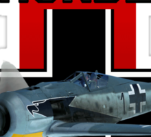 War Thunder  Fw190 Sticker