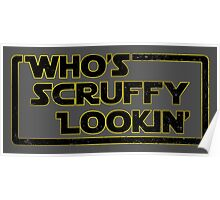 Who's Scruffy Lookin'? Poster