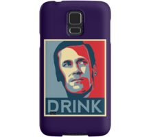"Don ""Drink"" Poster Samsung Galaxy Case/Skin"