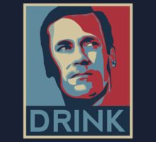 "Don ""Drink"" Poster by JohnLucke"