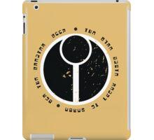 Tau - lettering iPad Case/Skin