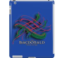 Clan MacDonald Tartan Twist iPad Case/Skin