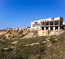 Malta Ruins, sliding down the hill by DiveDJ