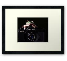 OK everybody  say croakkk...! Framed Print
