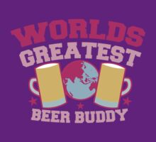 Worlds greatest BEER Buddy in pink by jazzydevil