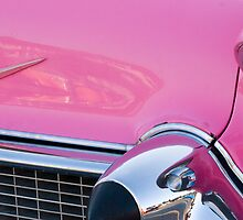 pink caddy by David Chesluk