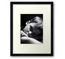 Penny For Your Thoughts? Framed Print
