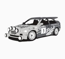 Fortitude's 'Malcolm Wilson' Michelin Pilot Ford Escort Cosworth  by Twain Forsythe