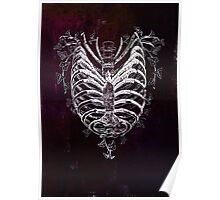 Ribcage Heart Poster