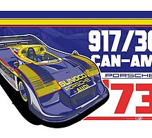PORSCHE - 917/30 CAN-AM by Evan DeCiren