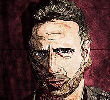 Rick Grimes by mikebone
