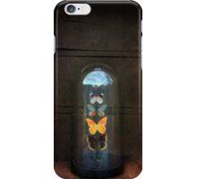 Butterflies in a Glass Bell Jar iPhone Case/Skin