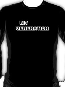 Bit Generation. White version. T-Shirt