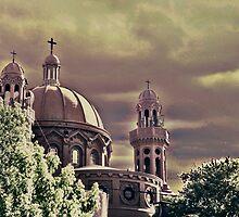 National Shrine of Cerrito de la Victoria Church by DFLC Prints