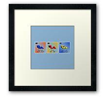 Chemical BaZnGa - Horizontal Framed Print