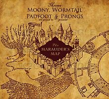 Marauders map by ryanhayes1999