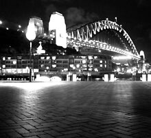 Sydney Harbour Bridge by Night by korm87
