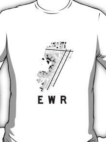 Newark Airport Diagram T-Shirt