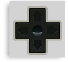 Cross NES controller pad buttons. Canvas Print