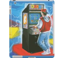 Klax. Amazing retro arcade machine cabinet gamer! iPad Case/Skin