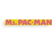 Ms Pac-man / Mrs Pacman Canvas Print