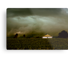 Storm on the Rise Metal Print