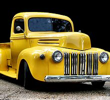 Yellow Ford Truck by Jonicool
