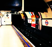 Metro mood in London # 03 by fabricedeloor