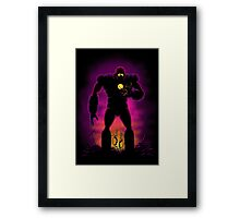 The Iron Sentinel Framed Print