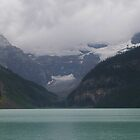 Emerald Lake, Mist Rising by JohnT