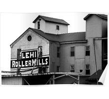 Lehi Roller Mills Poster