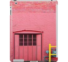 Pink•Off Whyte iPad Case/Skin