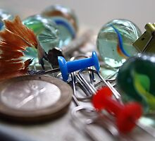 Messy Marbles by -kugen-