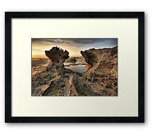 Tidal Pillar Framed Print
