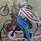 Bicycles by cruserart