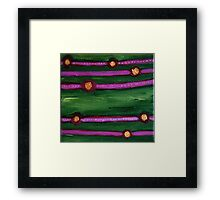 pulses of knowing Framed Print