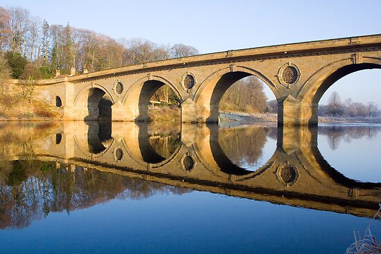 Coldstream bridge, the bridge to gods country....... by Ken McKillop