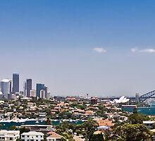 Sydney Skyline by beakydave
