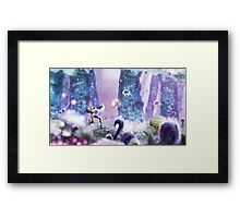 Toxic Planet Framed Print