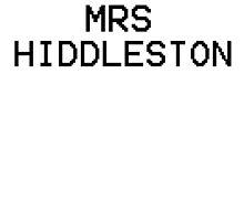 Mrs Hiddleston by Izlucey