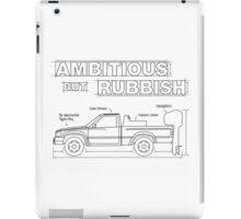 Ambitious but Rubbish Toybota blueprints  iPad Case/Skin