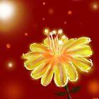 glow flower by mnathanielc